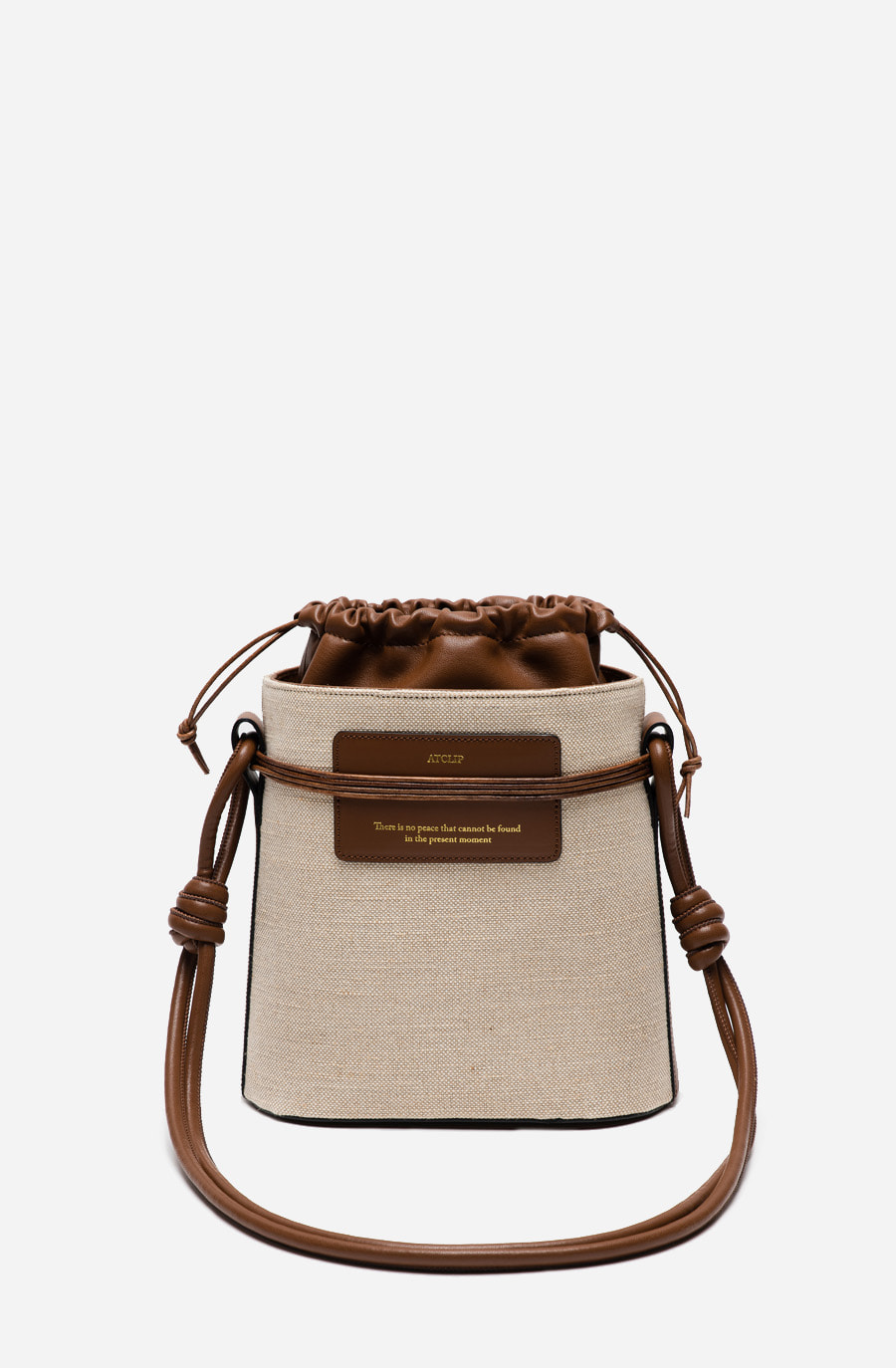 MOMENT BAG (tan brown)