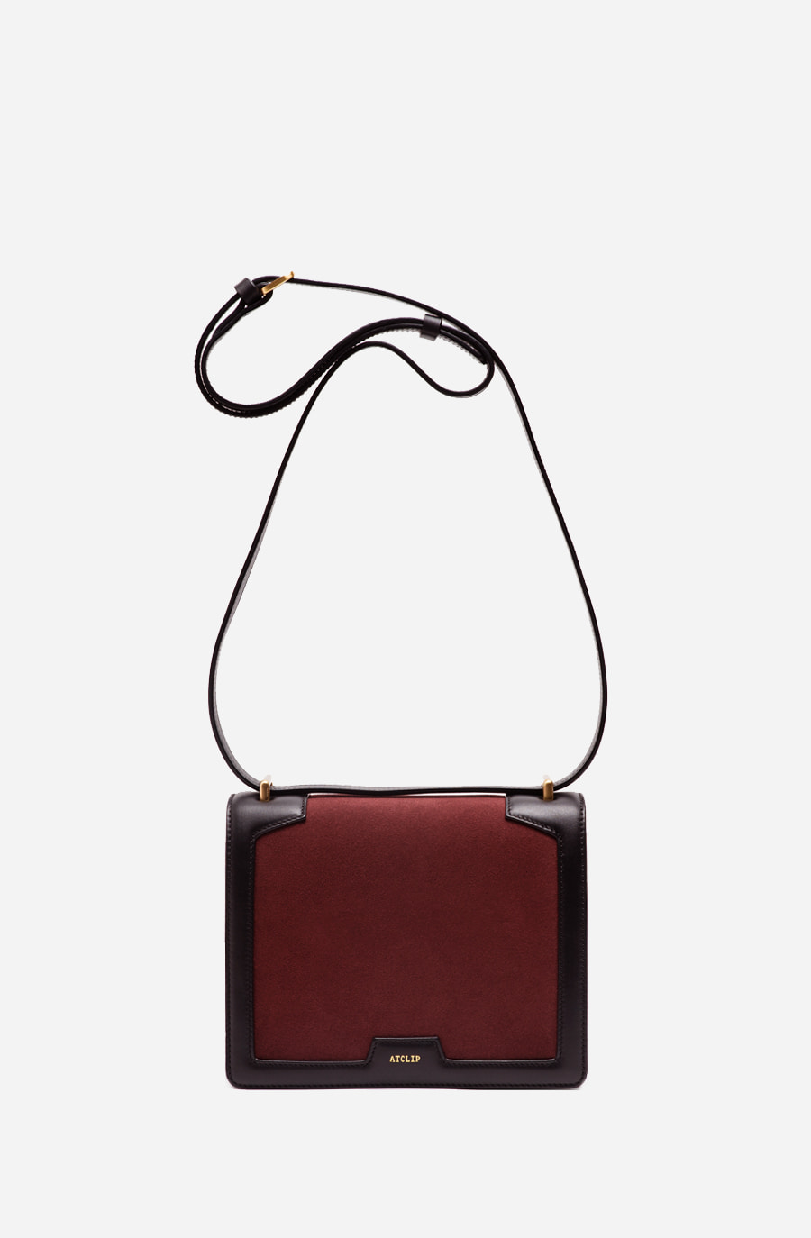 FRAME BAG (burgundy)