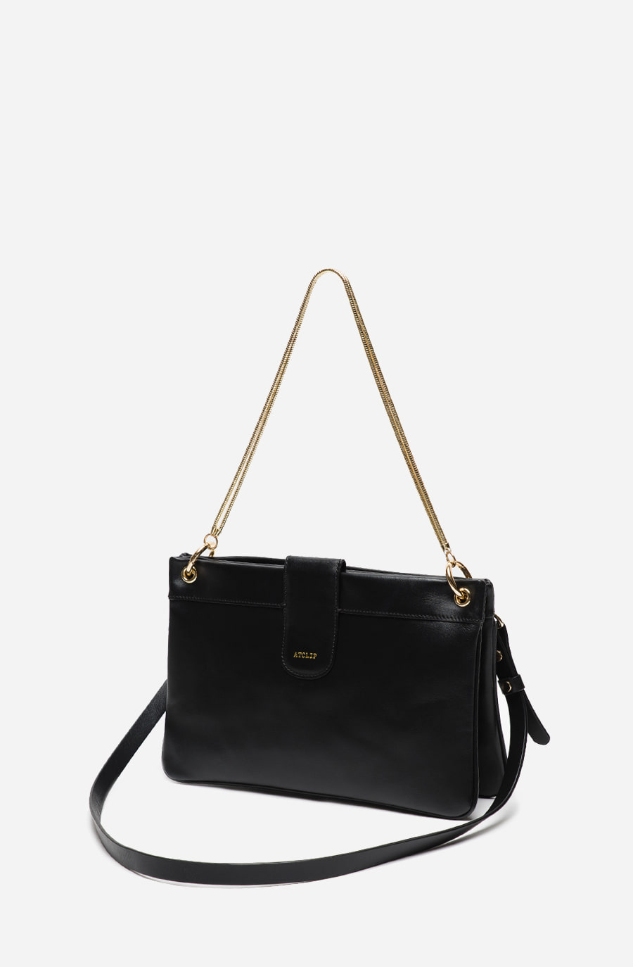DOUBLE BAG (black)