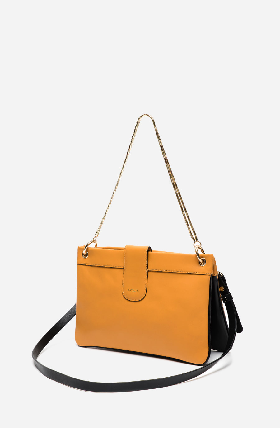 DOUBLE BAG (deep yellow)