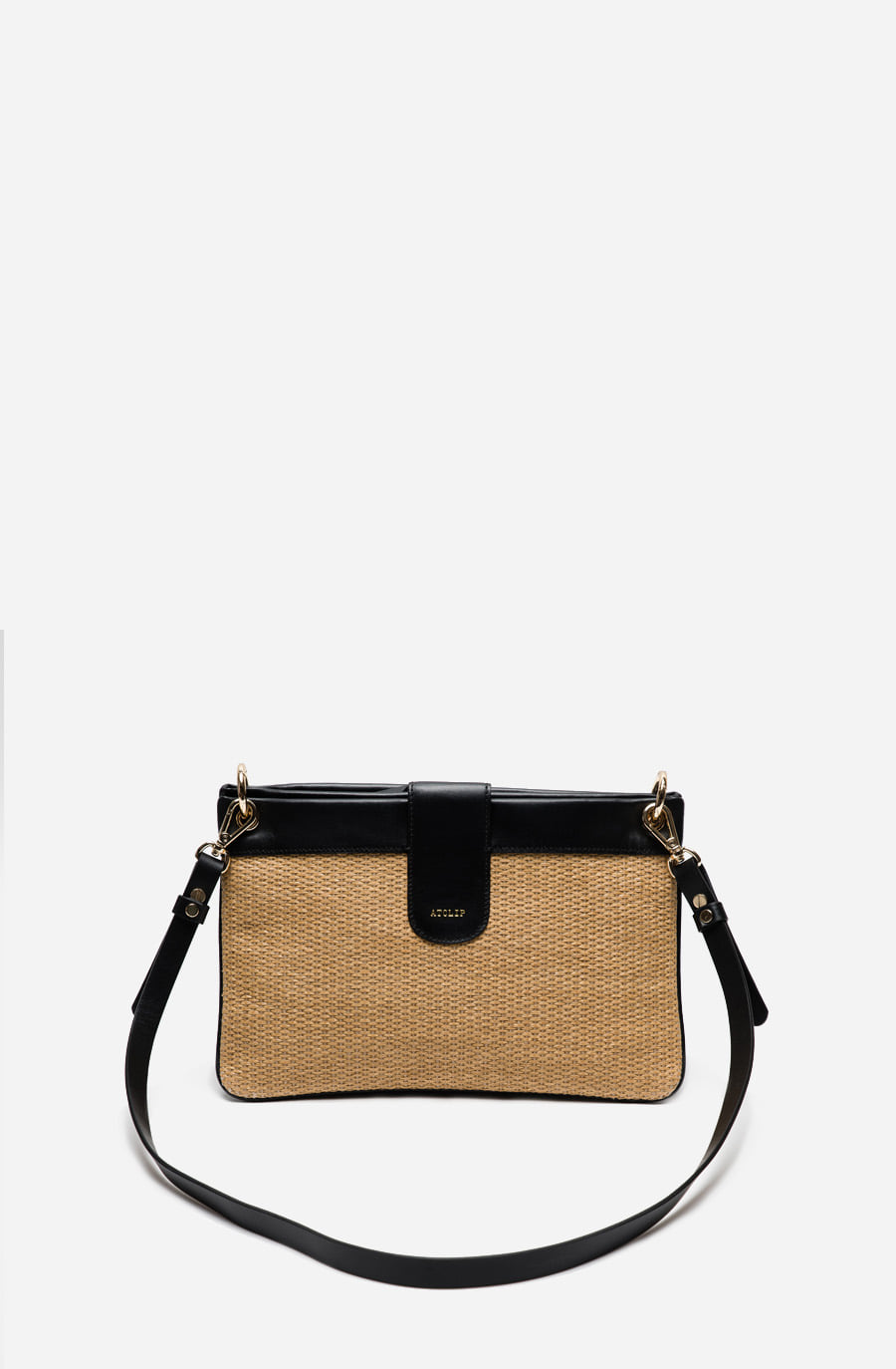DOUBLE BAG (rattan black)