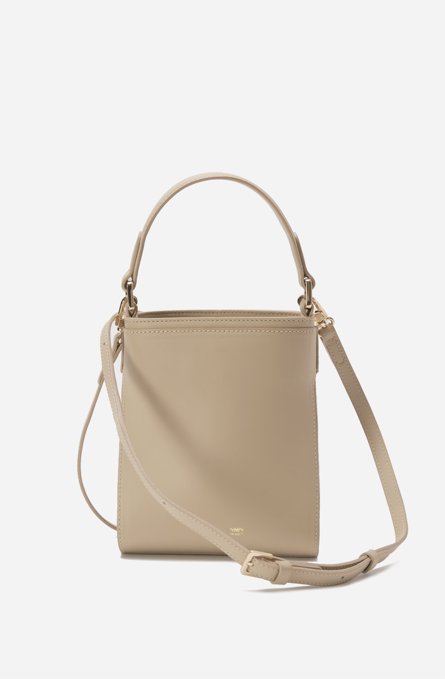 MINI LINK BAG (solid nude)