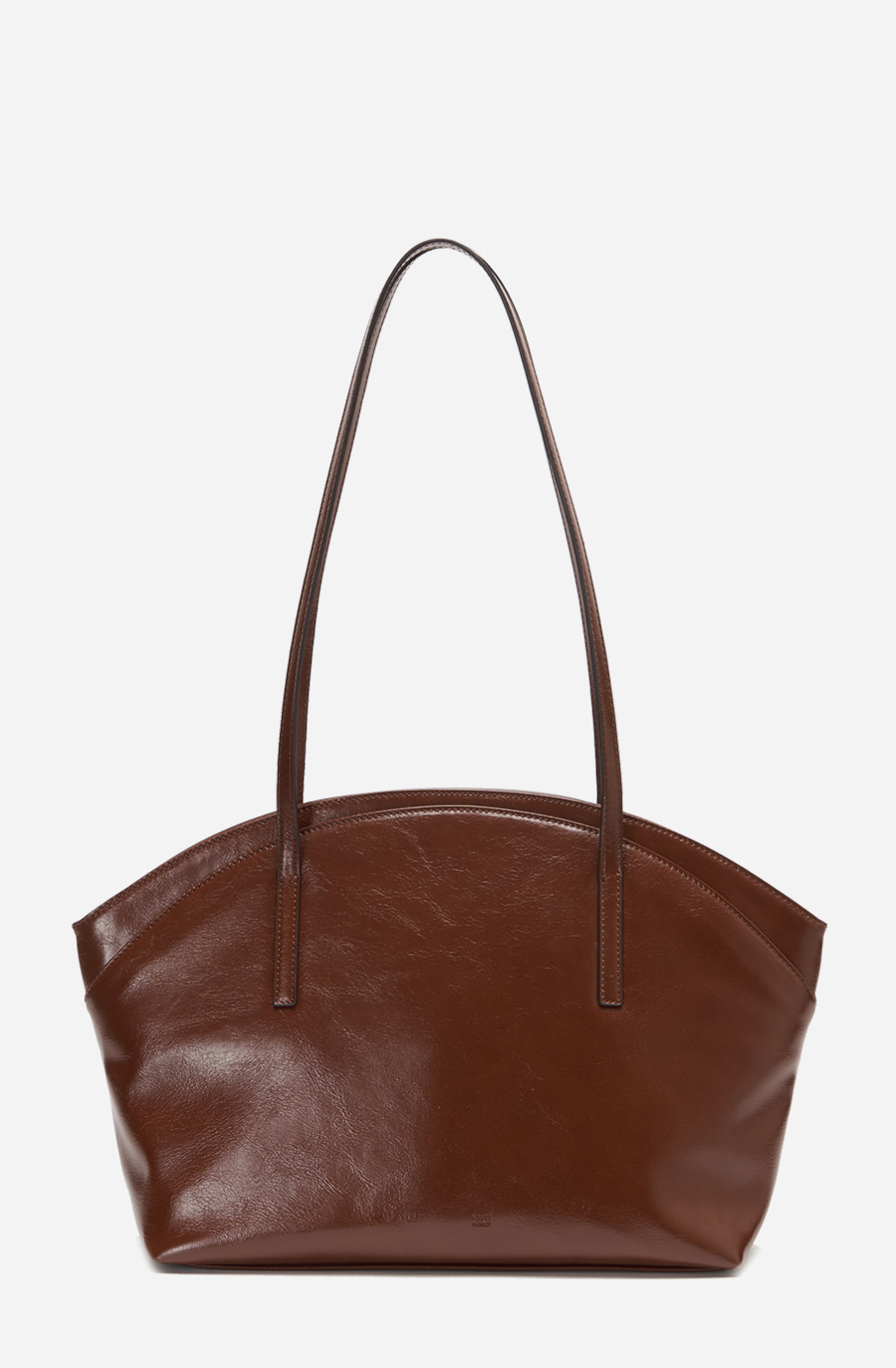 CLAM BAG (brown)